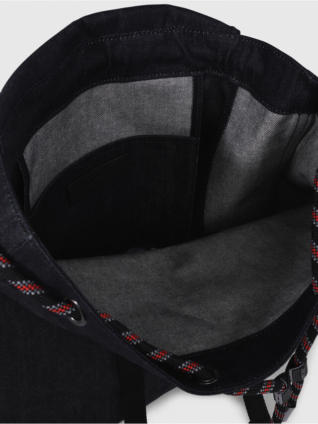 Diesel - VOLPAGO BACK, Black - Backpacks - Image 3