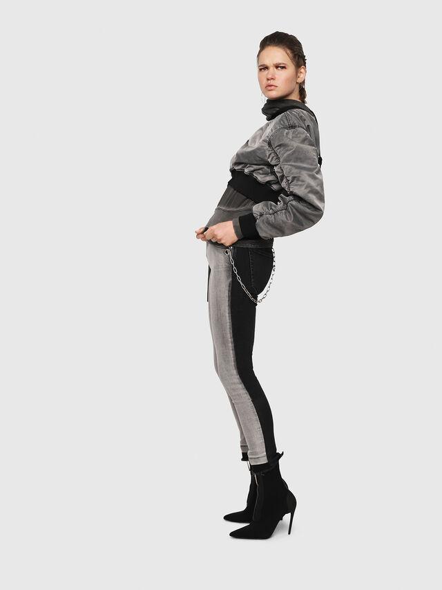 Diesel - Babhila 081AG, Black/Dark Grey - Jeans - Image 3
