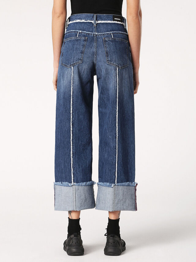 Diesel - Widee 084TE, Blue Jeans - Jeans - Image 3