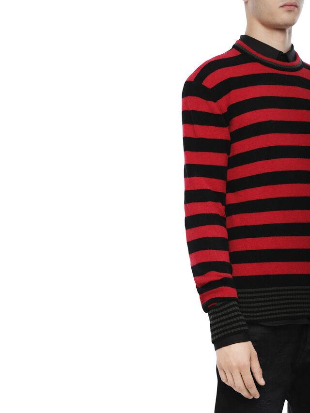 Diesel - KARCE, Red - Sweaters - Image 3