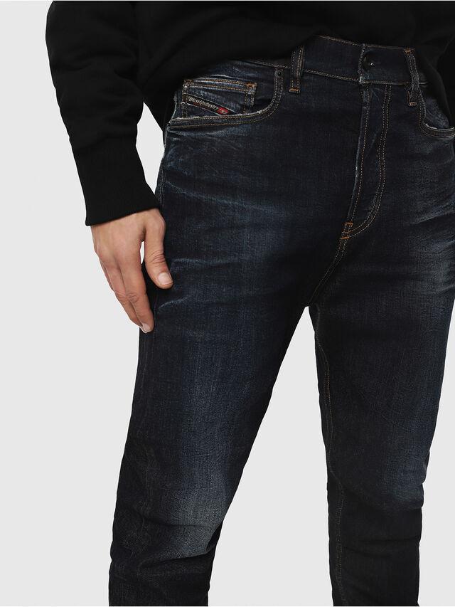 Diesel - D-Vider 081AT, Dark Blue - Jeans - Image 3