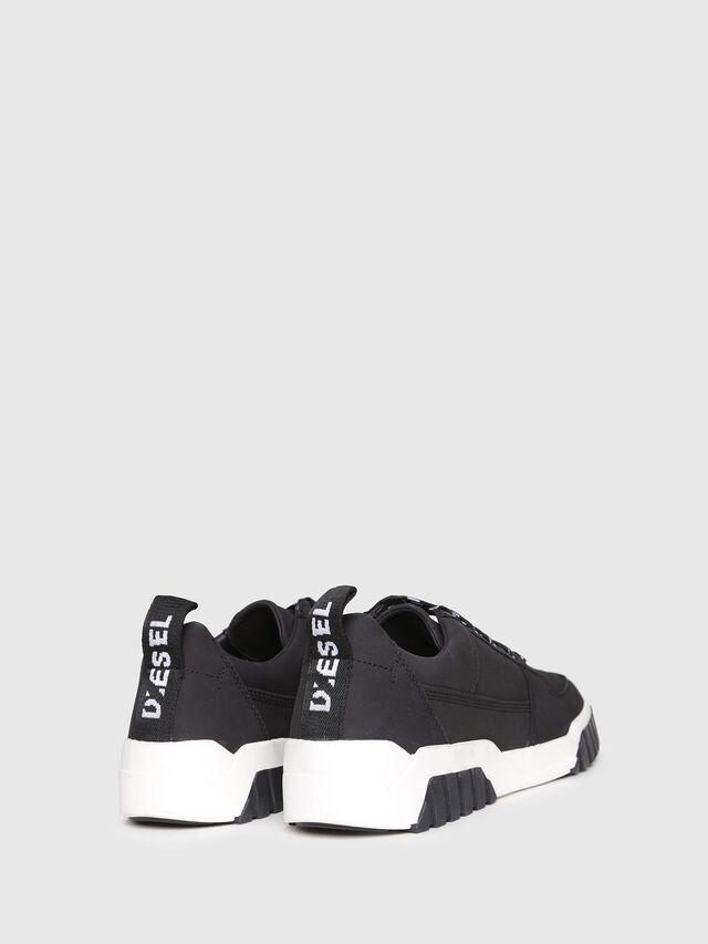 Diesel - S-RUA LC W, Black - Sneakers - Image 3