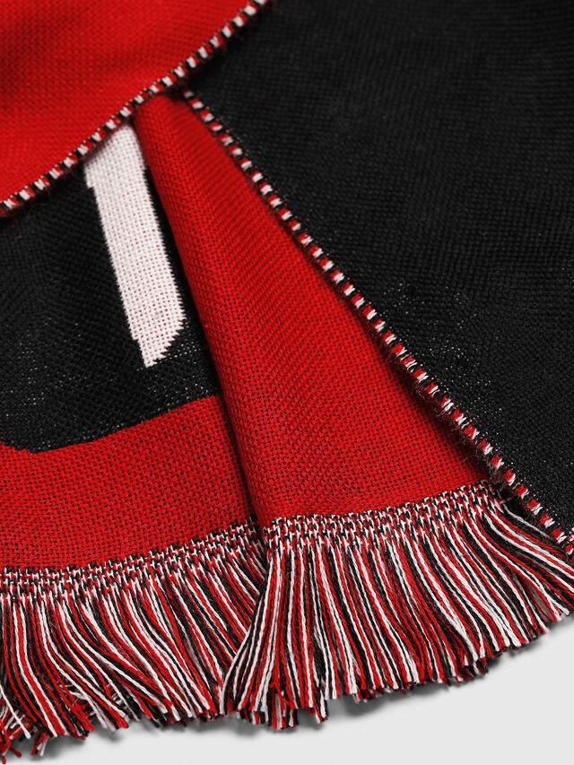 Diesel - STEDIO, Red/Black - Scarves - Image 3
