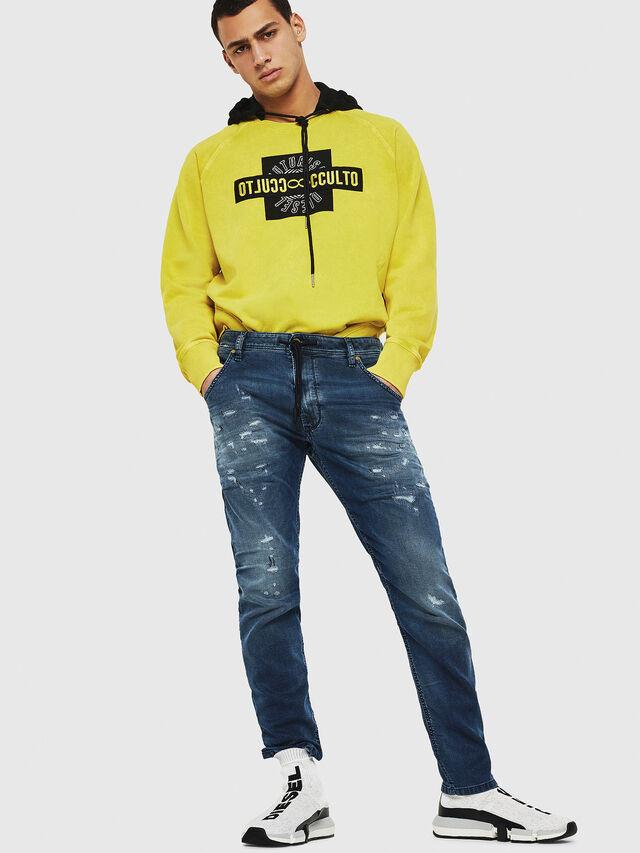 Diesel - Krooley JoggJeans 069HA, Medium Blue - Jeans - Image 5