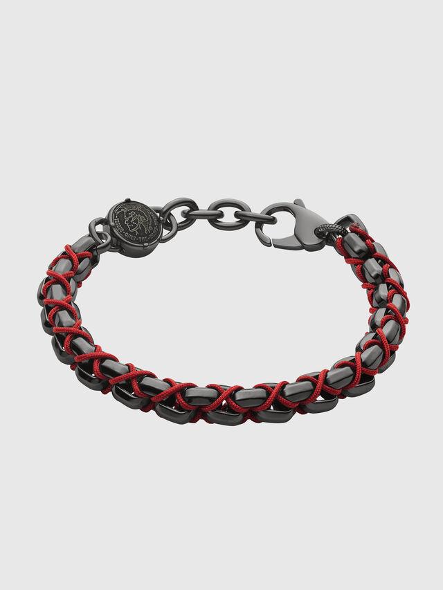 Diesel - DX1181, Black/Red - Bracelets - Image 1
