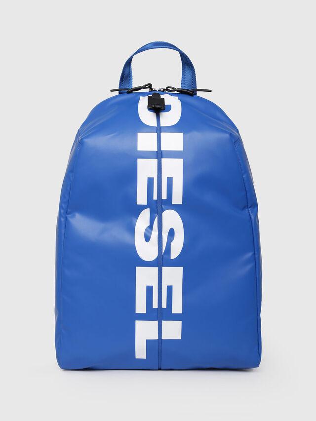 Diesel - F-BOLD BACK, Brilliant Blue - Backpacks - Image 1