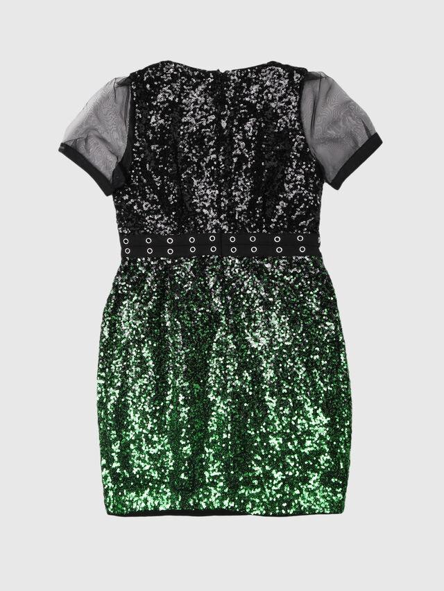 Diesel - DAKKI, Black/Green - Dresses - Image 2