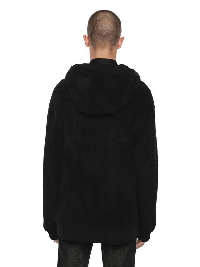 Diesel - FLAMO, Black - Sweatshirts - Image 7