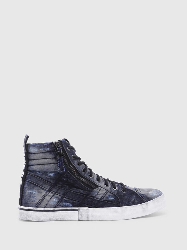 Diesel - D-VELOWS MID LACE, Night Blue - Sneakers - Image 1