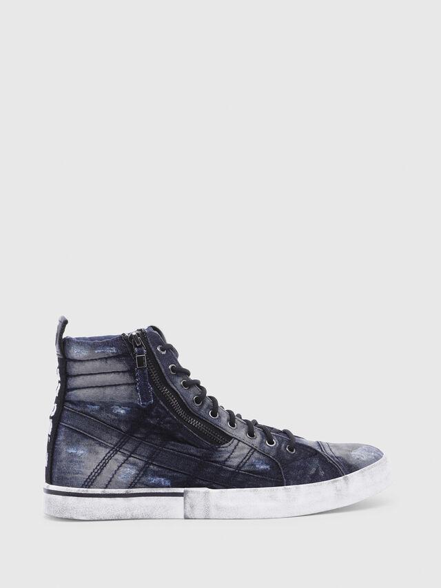Diesel - D-VELOWS MID LACE, Night Blue - Sneakers - Image 1