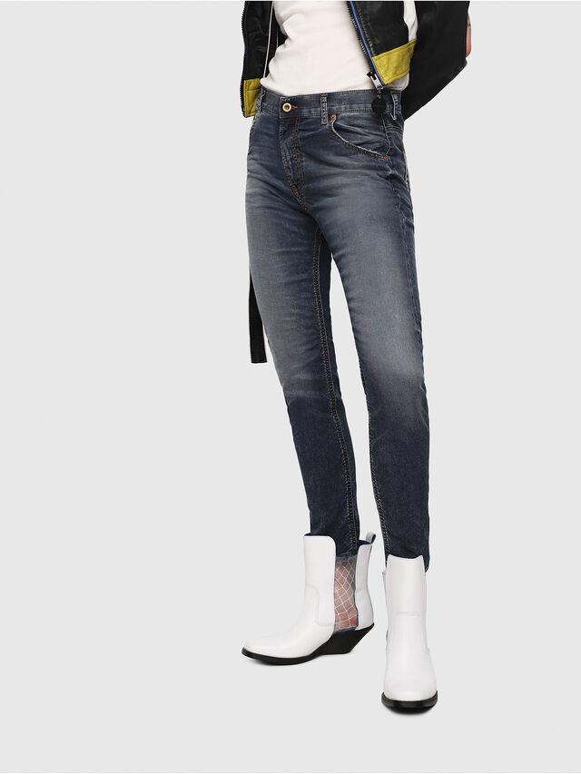 Diesel - Krailey JoggJeans 069FG, Medium Blue - Jeans - Image 1
