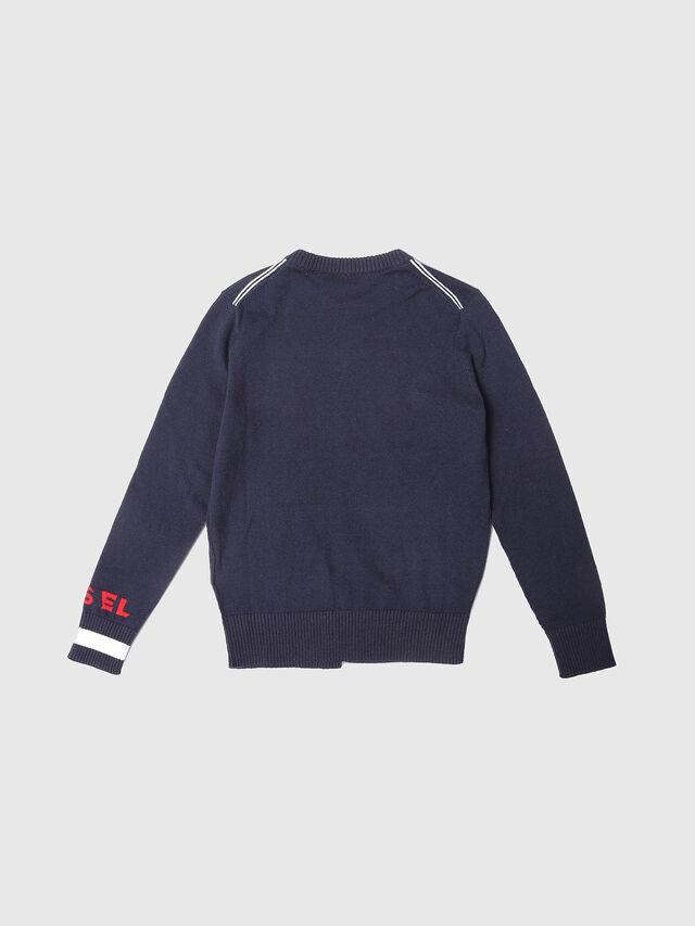 Diesel - KTOP, Blue - Sweaters - Image 2