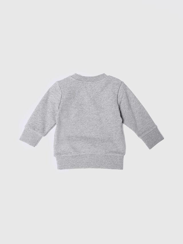 Diesel - SOSSIB, Grey - Sweatshirts - Image 2