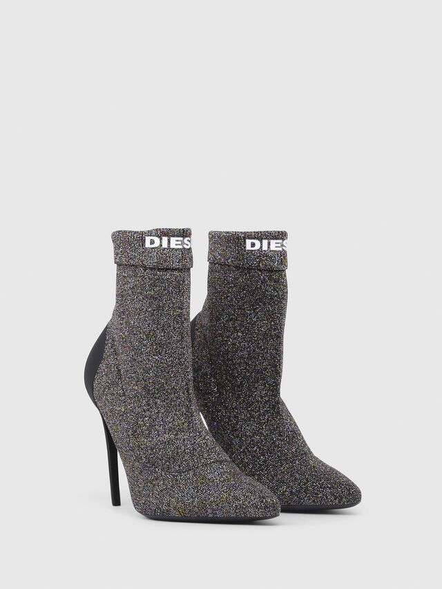 Diesel - D-SLANTY HASM, Multicolor/Black - Boots - Image 2