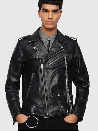Mens Leather Jackets Diesel Online Store