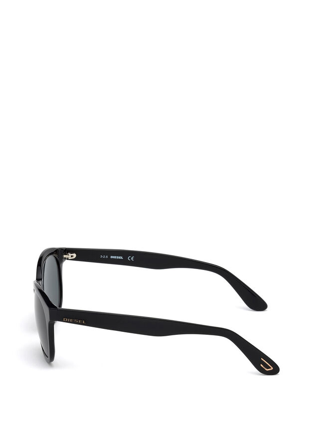 Diesel - DM0190, Black - Sunglasses - Image 3