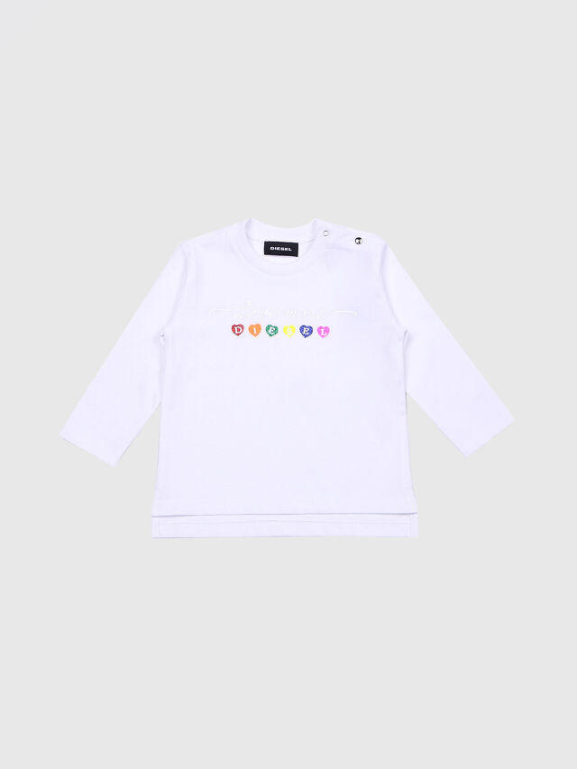 Diesel - TRIVVIB, White - T-shirts and Tops - Image 1