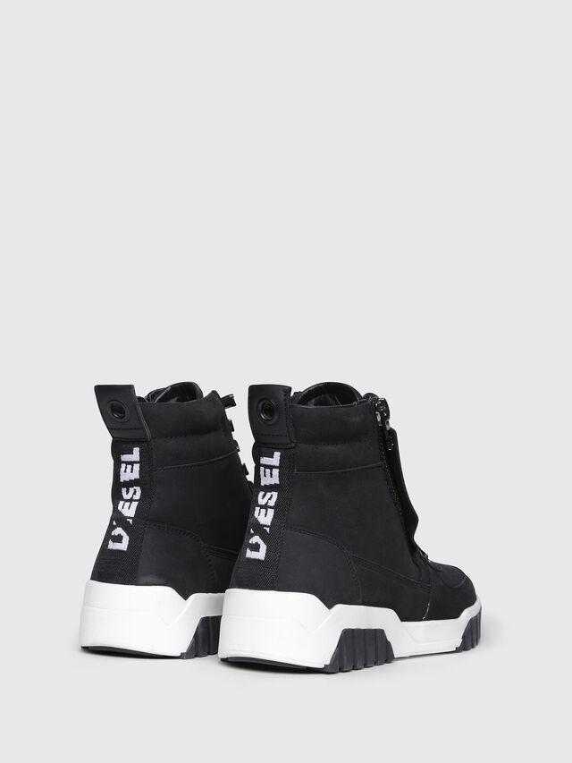 Diesel - S-RUA MC W, Black - Sneakers - Image 3