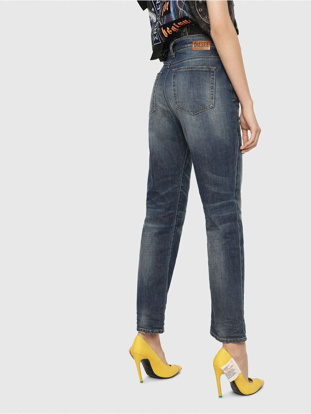 Diesel - D-Eiselle 089AR, Medium Blue - Jeans - Image 2