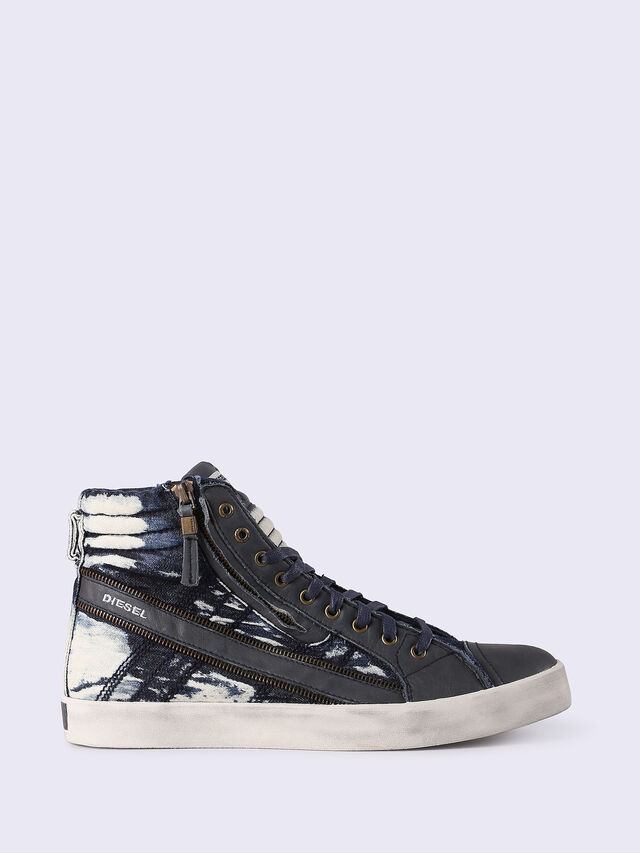 Diesel - D-STRING PLUS, Blue Jeans - Sneakers - Image 1