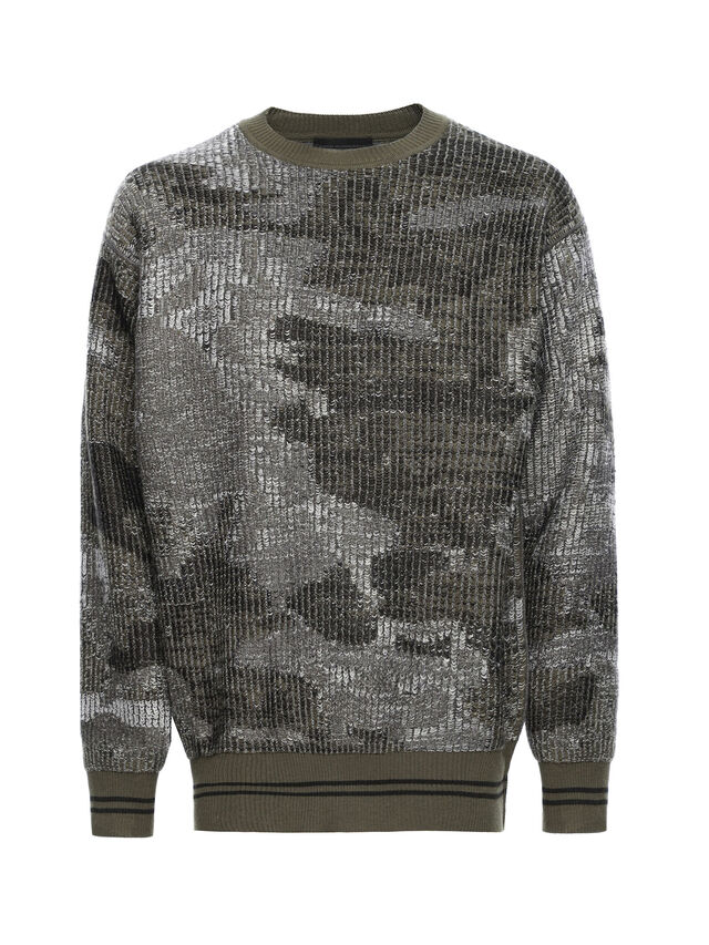 Diesel - KIPSILON, Military Green - Sweaters - Image 5