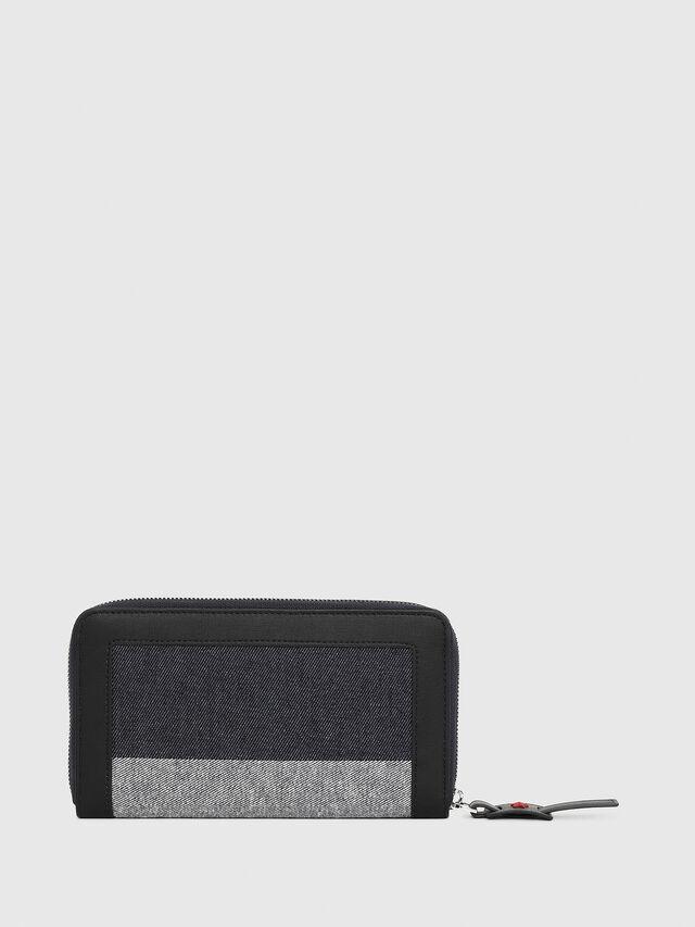 Diesel - GRANATO, Blue/Grey - Zip-Round Wallets - Image 2