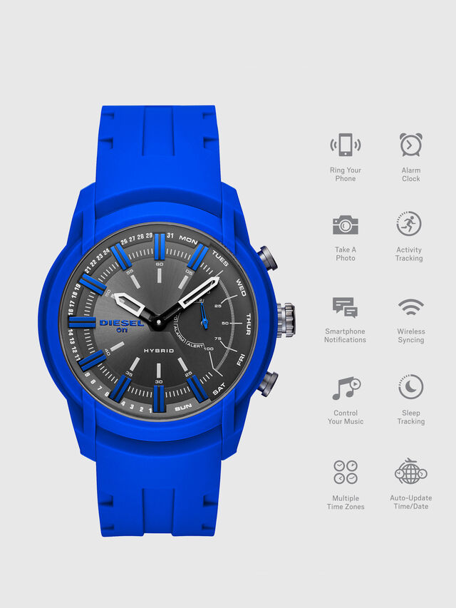 Diesel - DT1017, Brilliant Blue - Smartwatches - Image 1