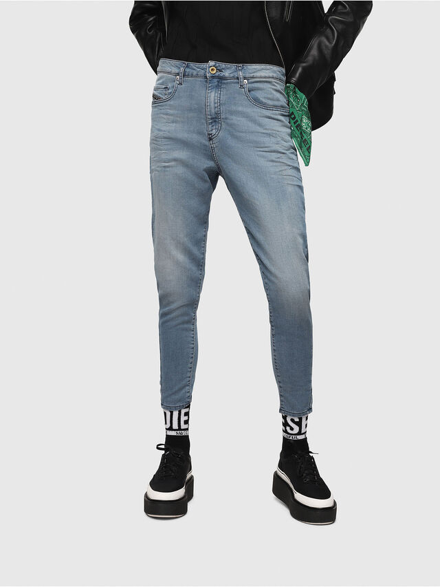 Diesel - Candys JoggJeans 069FF, Light Blue - Jeans - Image 1
