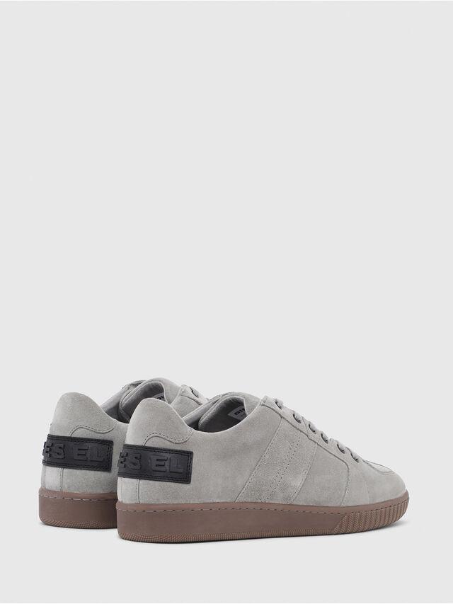 Diesel - S-MILLENIUM LC, Grey - Sneakers - Image 3