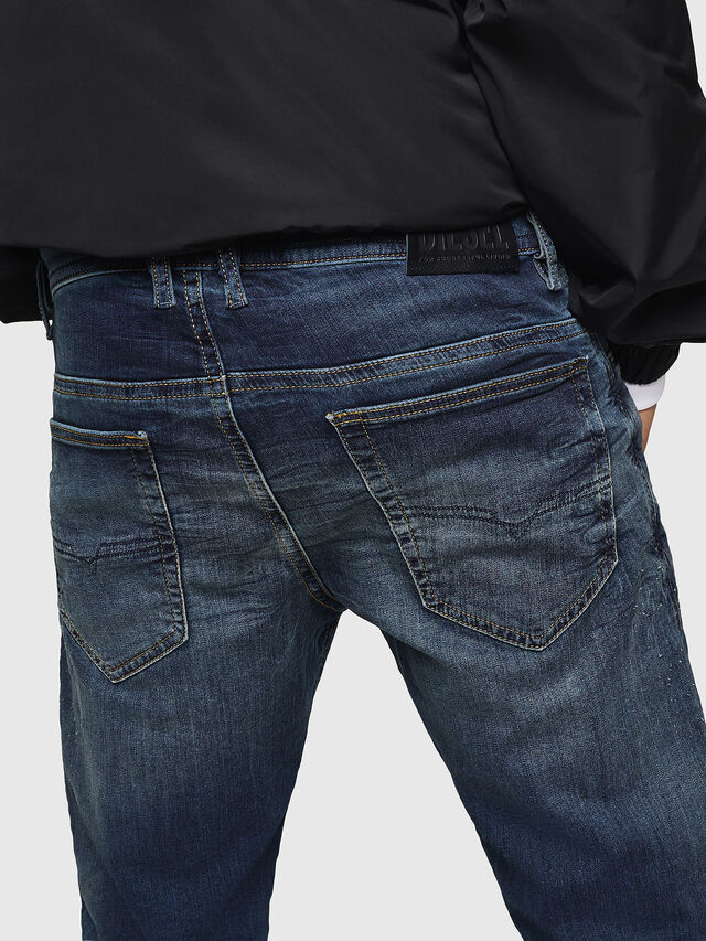 Diesel - Thommer JoggJeans 069HI, Dark Blue - Jeans - Image 5
