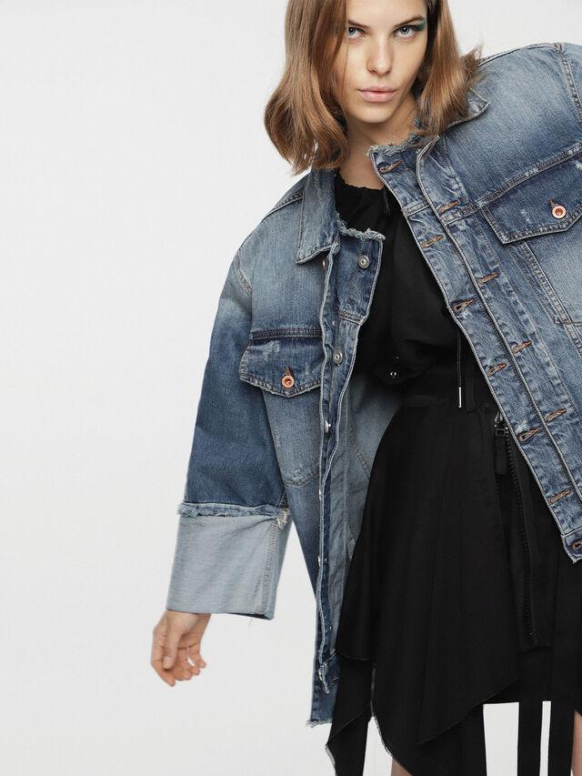 Diesel - DE-VISEMAC, Blue Jeans - Denim Jackets - Image 5