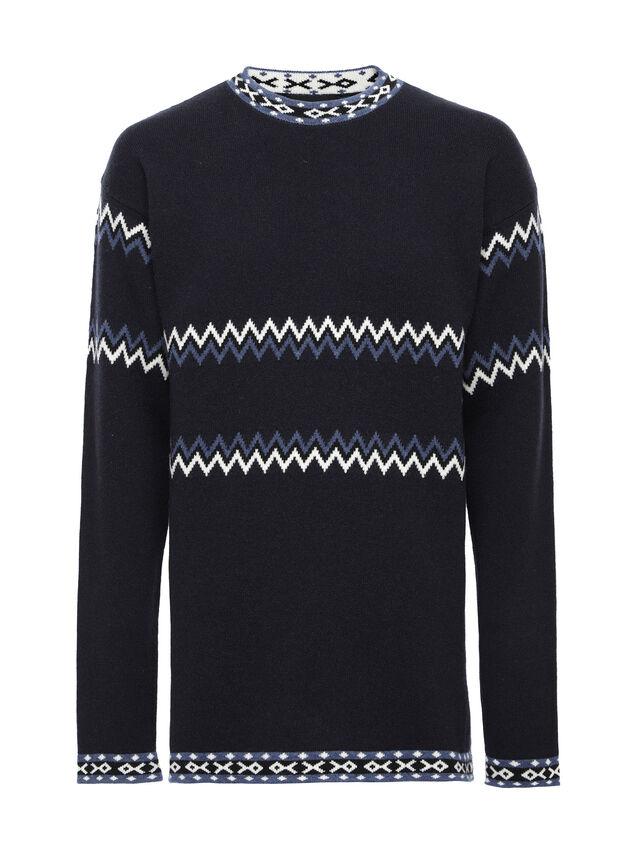 Diesel - KEXAL, Navy Blue - Sweaters - Image 5
