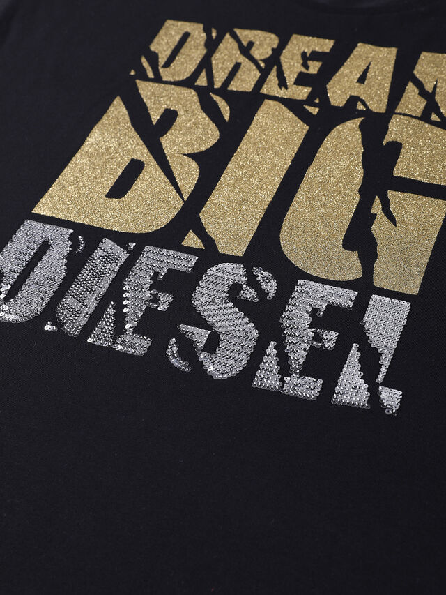 Diesel - TOMY, Black - T-shirts and Tops - Image 3