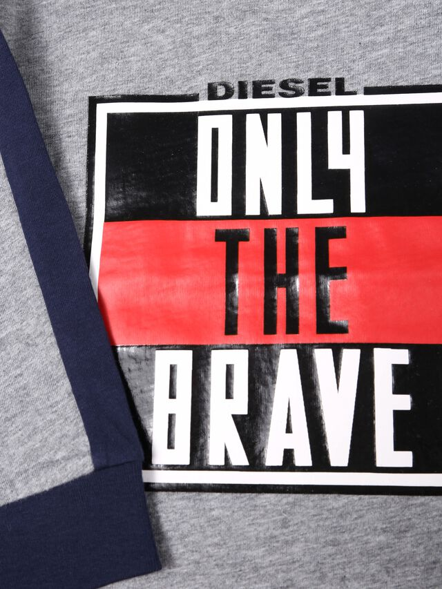 Diesel - TESMIB, Grey - T-shirts and Tops - Image 3