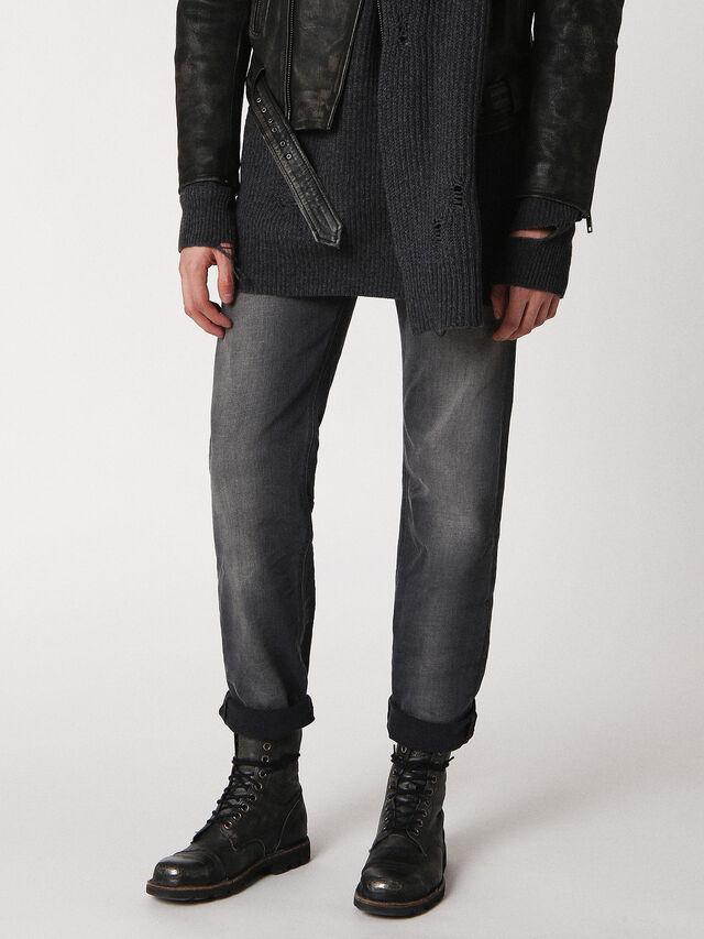 Diesel - LARKEE 084JK, Grey jeans - Jeans - Image 1