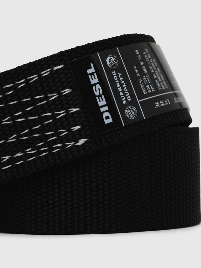 Diesel - B-ONAVIGO, Black - Belts - Image 2