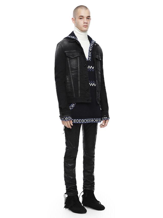 Diesel - JARTAPES, Black Jeans - Jackets - Image 4