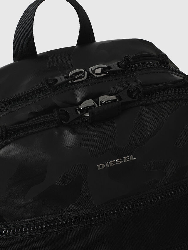 Diesel - F- URBHANITY BACK, Blue/Black - Backpacks - Image 4