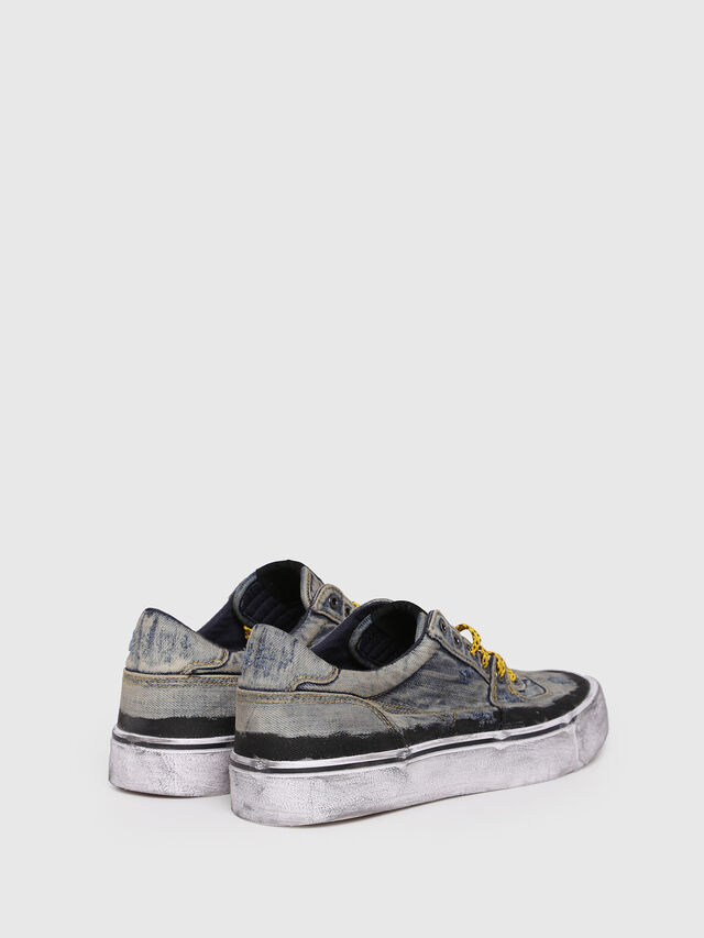 Diesel - S-FLIP LOW, Blue Jeans - Sneakers - Image 2