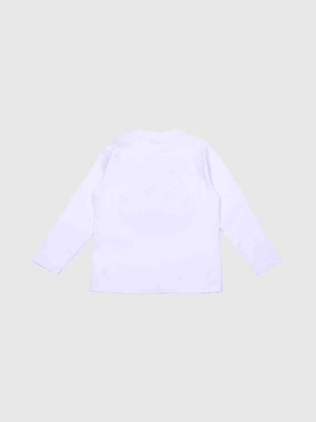 Diesel - TOMMI OVER, White - T-shirts and Tops - Image 2