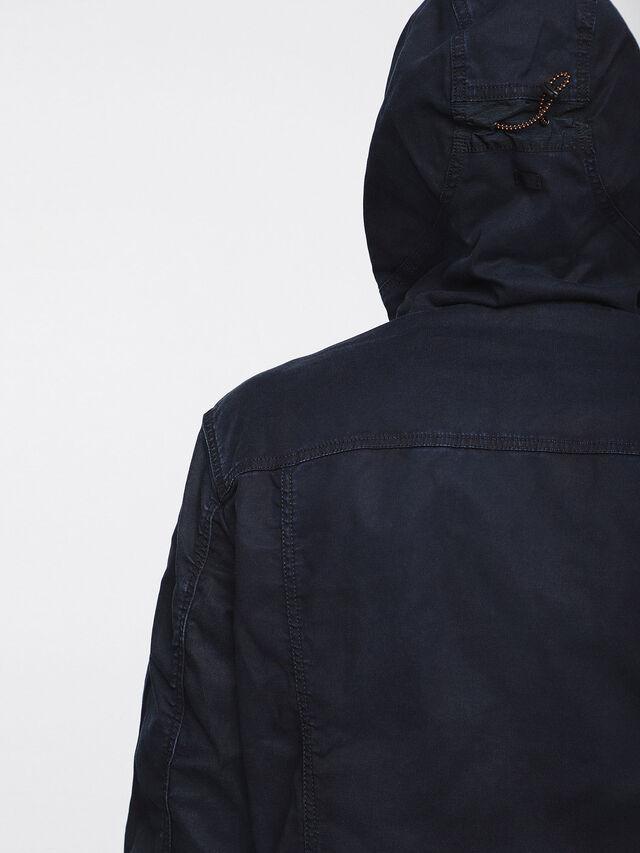 Diesel - MONSHI JOGGJEANS, Dark Blue - Denim Jackets - Image 3