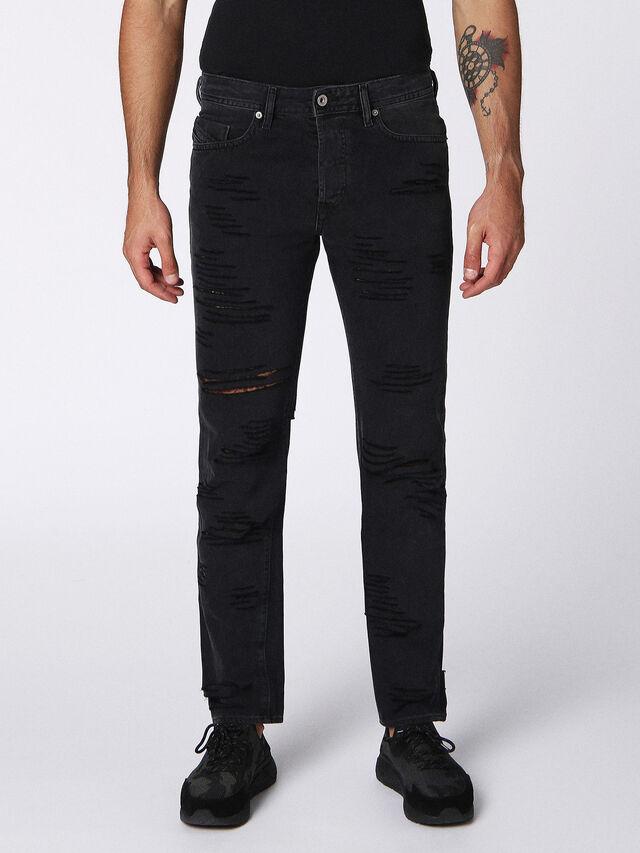 Diesel - Buster 084PQ, Black/Dark Grey - Jeans - Image 1