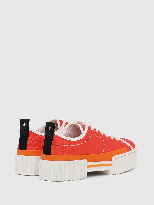 Diesel - S-MERLEY LC, Orange - Sneakers - Image 3