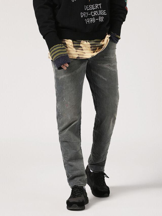 Diesel - Larkee-Beex 084TL, Blue Jeans - Jeans - Image 4