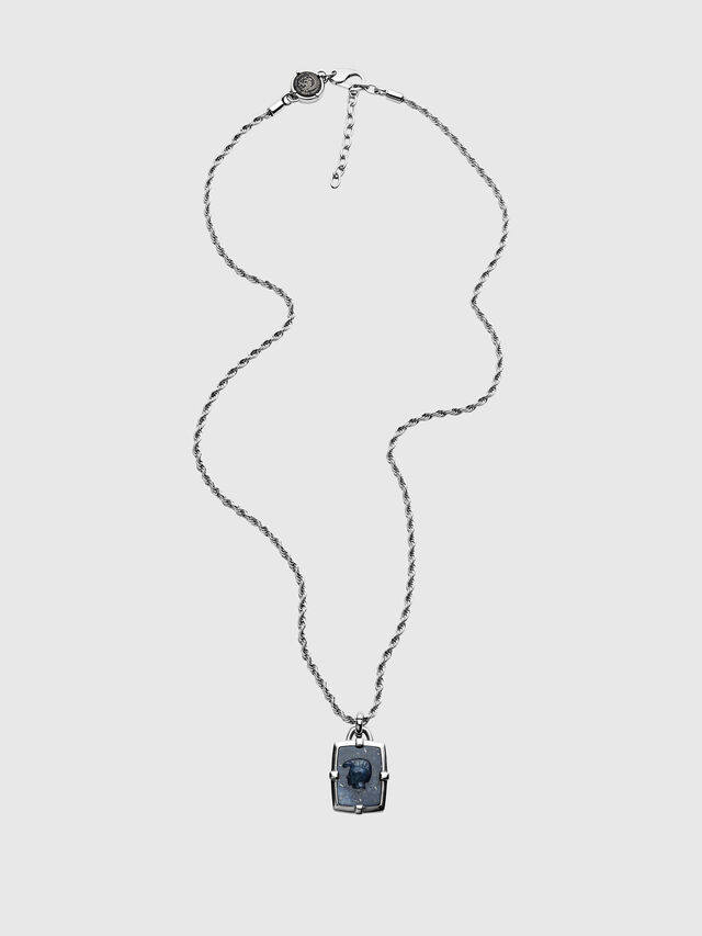 Diesel - DX1191, Silver - Necklaces - Image 1