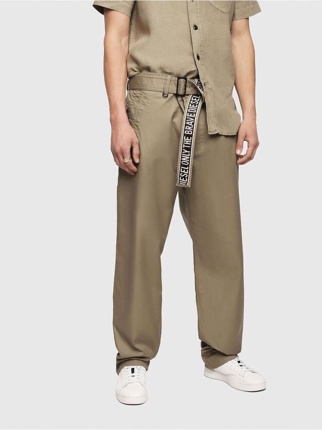 Diesel - P-TOSHI, Dark Beige - Pants - Image 1
