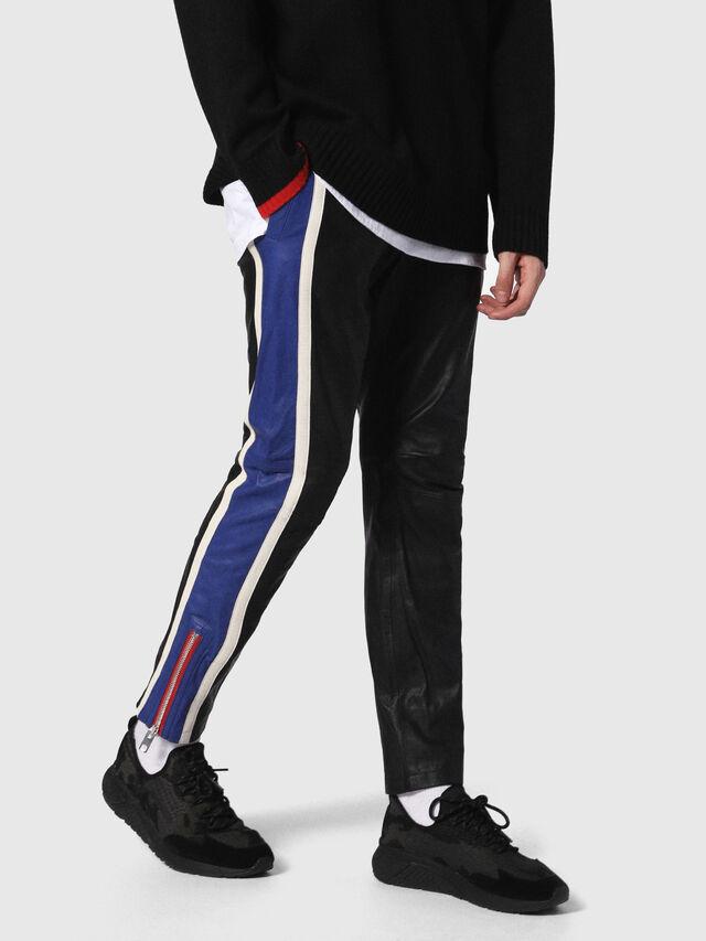 Diesel - P-MONTE-L, Black/Blue - Pants - Image 1