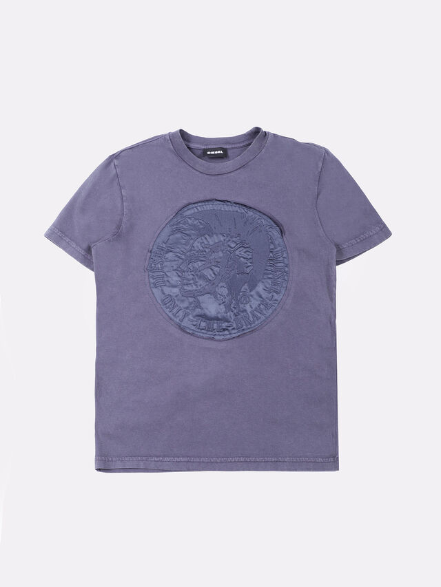 Diesel - TINNYX, Navy Blue - T-shirts and Tops - Image 1
