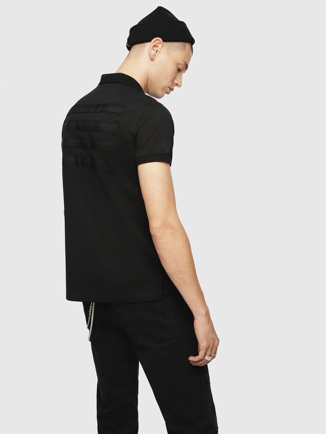Diesel - T-MIKIO, Black - Polos - Image 2