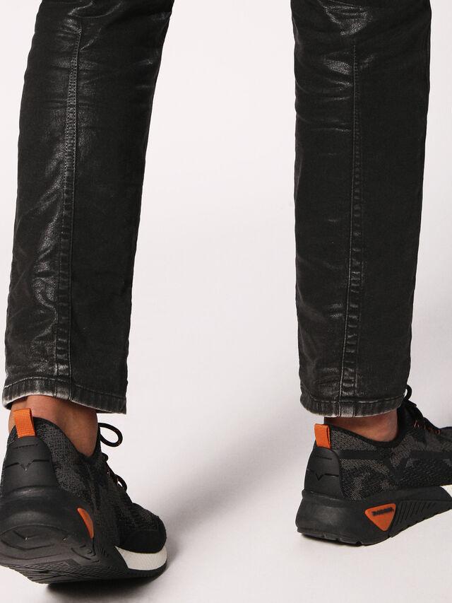 Diesel - Krooley JoggJeans 084HH, Black/Dark Grey - Jeans - Image 6